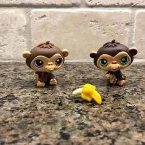 Lps Littlest Pet Shop Chimpanzee Lot